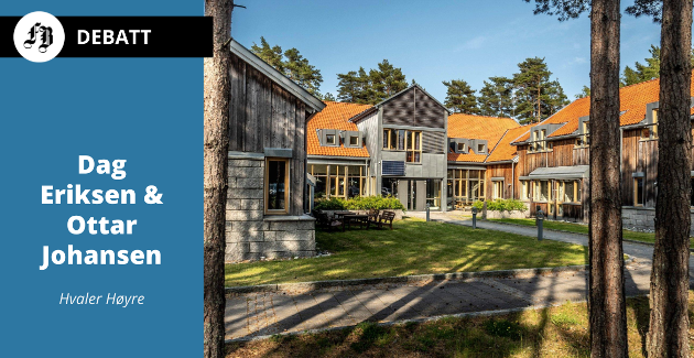 – Om ikke Hvaler klarer å etablere en bærekraftig kommuneøkonomi, er veien kort inn i storkommunen, «dommen» fra de to Høyre-politikerne.