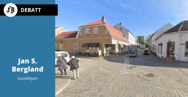 Gaten må være åpen, det bør ikke være servering, ber Jan S. Bergland foran sommersesongen da det vanligvis er langt mer folksomt i Voldportgaten.
