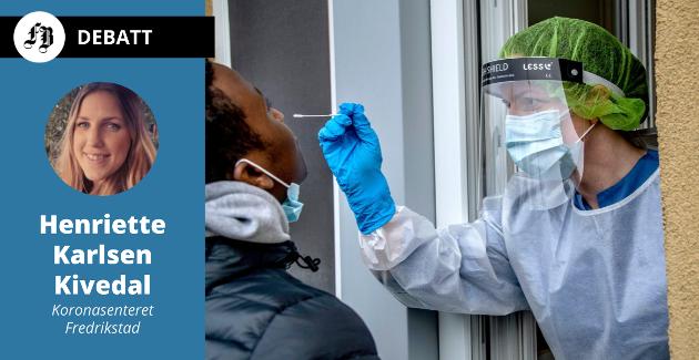 Flere hundre tester utføres hver uke ved Koronasenteret. Når det «blinker rødt» starter det viktige samarbeidet med den smittede for å finne nærkontakter som kan være smittebærere.