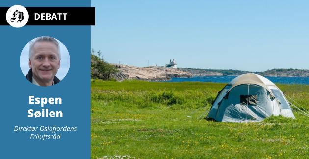 – Gamle og nye teltgjester ønskes velkommen til Storesand, forsikrer  direktøren for Oslofjordens Friluftsråd.