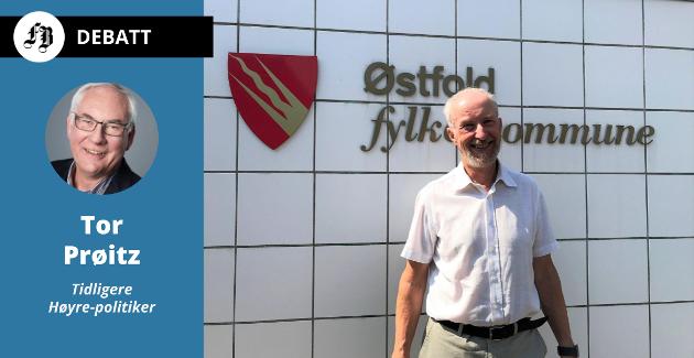 Ole Haabeth var Østfolds siste fylkesordfører. Han bør heller i fremtiden får noen etterfølger, mener Tor Prøitz.