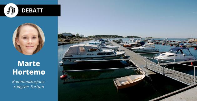 – Et marked der båter stort sett kun brukes til dags- og ettermiddagsturer  tilsier at de fleste båteiere ville klart seg med en elmotorløsning, skriver Hortemo.