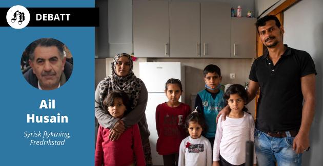 Syrisk familie i vestlig land. Nye  utfordringer dukker opp, livsstil, skikker og kultur er annerledes. Ali Husain kaller det glør under asken. Omtalen gjelder ikke personene på bildet. Illustrasjonsfoto: AP Photo/Giannis Papanikos