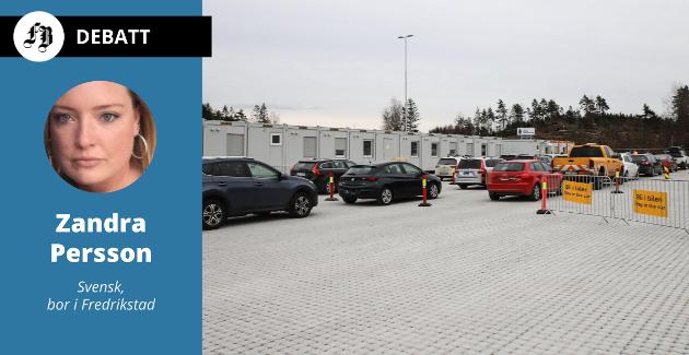 – Senteret er gigantisk med en masse brakker og alt er belagt med gatesten (tror ikke det finnes en sånn pen gate i Fredrikstad).