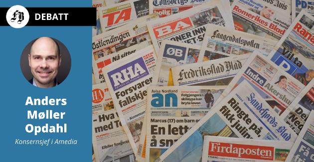 Amedia har gått fra 63 til 83 mediehus i Norge siden Amediastiftelsen ble eier i 2016. Antall journalister i konsernet er økt fra 758 til 801 i de samme mediehusene, og til totalt 1018 i de virksomhetene som i dag  utgjør konsernet.