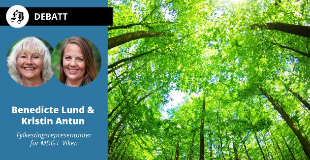 – Si nei til grønnvasking, ber Benedicte Lund og Kristin Antun, MDG.
