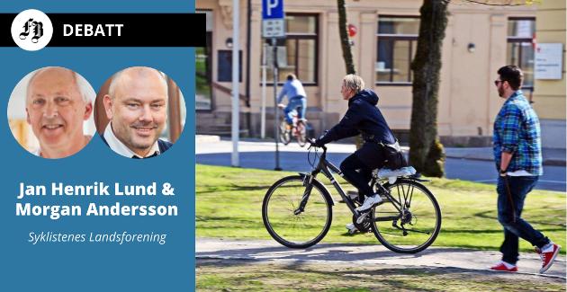 Syklistenes Landsforening reagerer på regelen som gjør at sykkel kommer under samme bestemmelse som el-sparkesykler. Regelen har også blitt kritisert av «syklende FB-leser» på tråden.