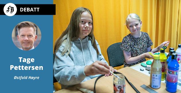 Tindra Hepsø og Elise Skodje var blant dem som koste seg på et av de mange verkstedene som fant sted på St. Croix-huset i regi av Sommerskolen.