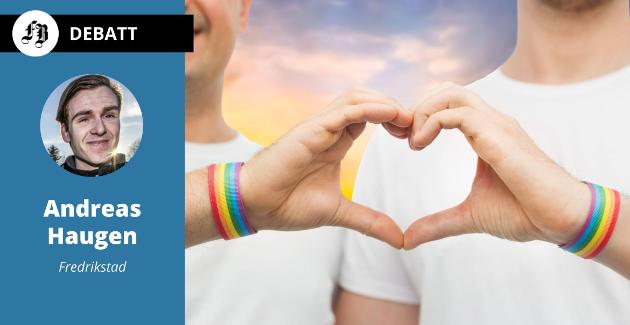 – Jeg føler meg verken annerledes eller unormal, men jeg vet at samfunnet ser på meg slik, forteller Andreas Haugen. Han har tidligere engasjert seg i spørsmålet om homofiles stilling i idretten, og er i dag styremedlem i Viken idrettskrets.