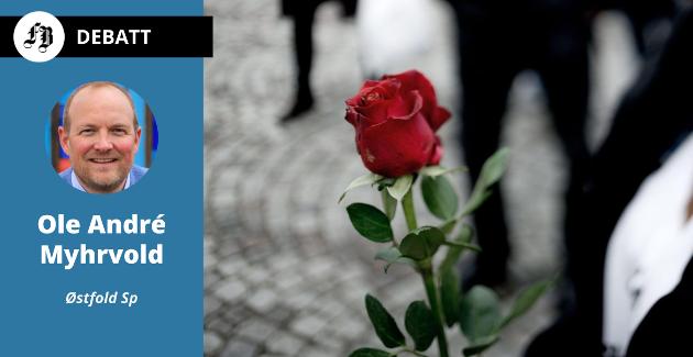 – 22. juli datoen som fikk folk til møte hatet med rosetog.