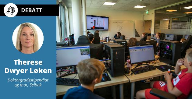 Gaming er av mange aktiviteter som har slått av ved Sommerskolen. Se lenke til bildeserie under saken.