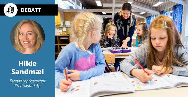 – Arbeiderpartiet vil ha en skole med flere kvalifiserte lærere med bedre tid og tillit.