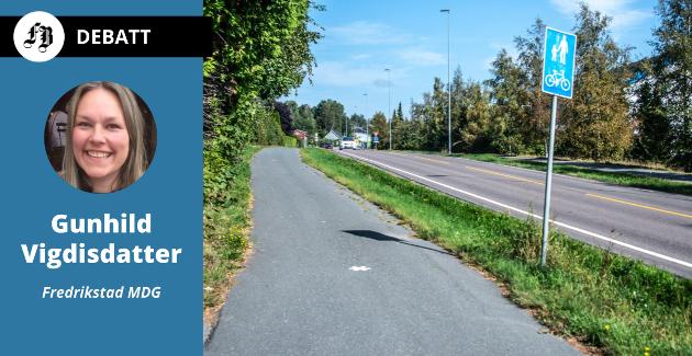 Gang- og sykkelveier er svaret nå nærnaturen er forsvunnet som skolevei.