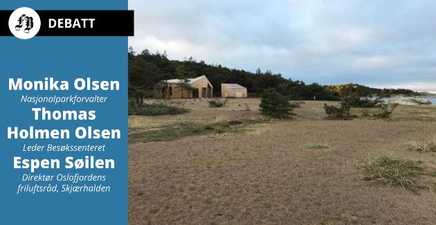 Storesand har aldri tidligere opplevd hatt så mange gjester i telt og hengekøyer, heter det i innlegget. Forfatterne ser for seg at det skal fortsette, innenfor de rammene nasjonalparken gir.