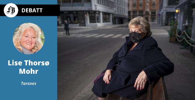 – Solbergs lille «party» er historie. Pandemien kommer vi til å leve med lenge. Forhåpentligvis med en viss raushet – for hverandre, skriver Lise Thorsø Mohr.