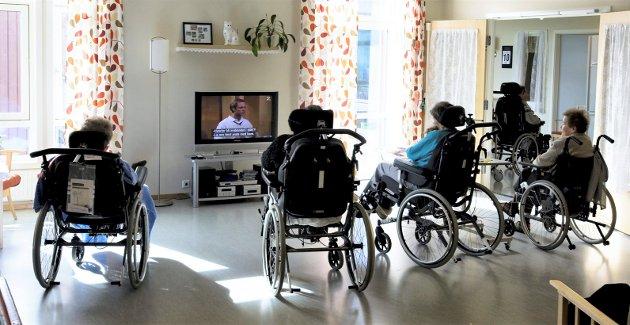 INP ønsker å overføre alle helse-, omsorg- og eldre pleie til fylkeskommunes ansvarsområde.