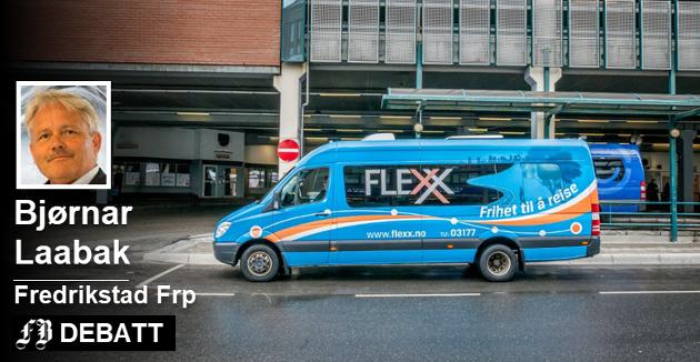 FLEXX er et dårlig tilbud for brukere som er dårlige til bens eller som ikke har mobiltelefon, mener Bjørnar Laabak.