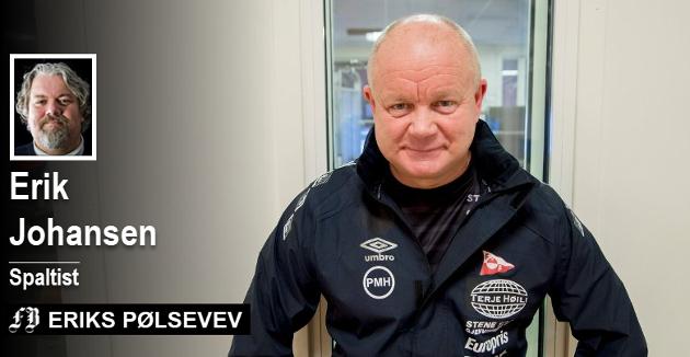 Til Per-Mathias Høgmo: Årets jakt er avlyst og det skal du ta til deg. I Fredrikstad jakter vi på syndebukker og fotballtrenere.