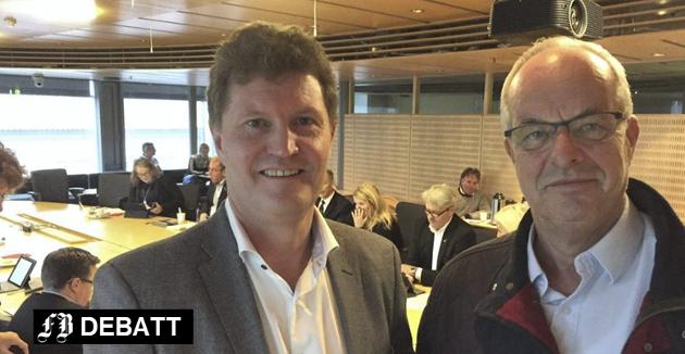 Anklager konsernsjef og styreleder: – FEAS har råtnet på rot og eierne, innbyggerne i Fredrikstad, har tapt betydelige verdier, er anklagen som først og fremst rettes mot Trond Andersen og Terje Moland Pedersen. Arkivfoto: Øivind Lågbu