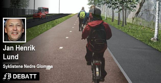 –  Legges det ikke til rette for rask og sikker ferdsel, er det nesten umulig å få trafikanter til å endre reisemåte, mener Lund. Skissen er lansert i en tidligere fase av planleggingen.  Illustrasjon: Pål Dixon Sandberg, Statens vegvesen