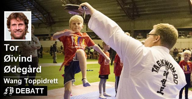 Mange har fått mulighet til å utfolde seg i Østfoldhallen, Sigvart Vestby Monsen som kjapt mestret taekwondo under barneidrettens dag i september i fjor.  Tor Øivind Ødegård ser stor nytte i at det skal bli et møtested for utøvere fra flere idretter.