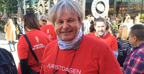 Rune Grundekjøn er en av to prosjektledere for årets rådgivningsdag. Bilde fra en tidligere juristdag.