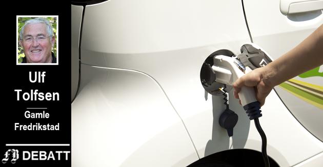 – Elbilene forurenser på andre områder og andre steder enn «fossile» kjøretøy. Livssyklus-utslippet blir omtrent identisk med siste generasjon bensinbiler, mener Ulf Tolfsen.