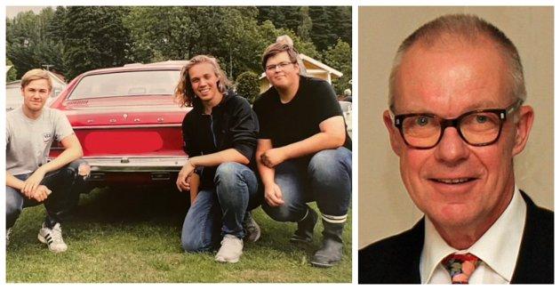 OVERTRAMP: Tre kamerater ønsket å campe på Eidene på Tjøme i pinsa, men ble bortvist av Røde Kors. Det mener Reidar Thorsen (til høyre) ikke organisasjonen hadde rett til.