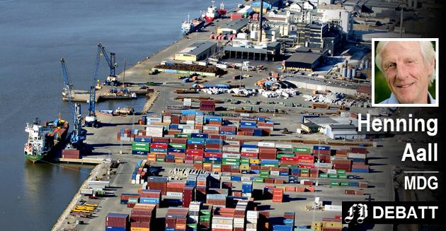 – Borg Havn går så det gviner.  Det er ikke dokumentert at Borg Havn, i nåværende form, ikke vil dekke det lokale næringslivets behov for sjøtransport langt inn i fremtiden, mener Aall.