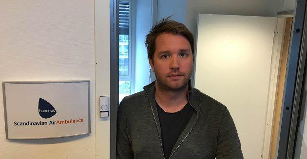 BABCOCK: Daglig leder Marius Hansen har stor forståelse for at flere er bekymret for beredskapen.