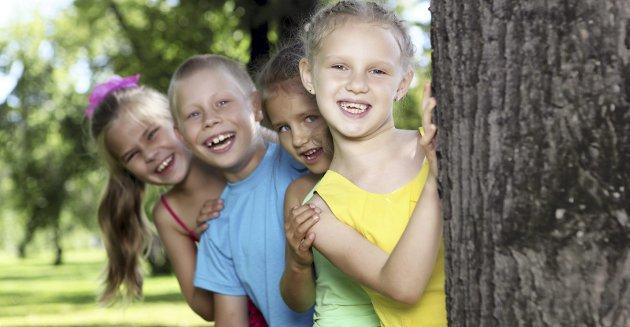 Barn: Barn er forskjellige, men det fører oss inn på villspor å diskutere barns natur ut fra fødested. Foto: Colourbox