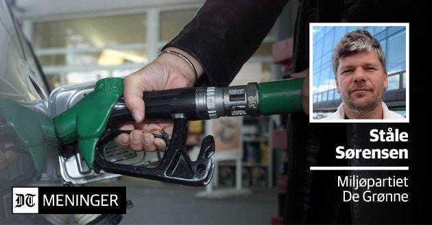 UREALISTISK OG SKADELIG: «Å blande inn 20 % biodrivstoff i alle landets biler, slik Regjeringen går inn for, er fullstendig urealistisk», mener Ståle Sørensen i MDG.