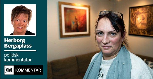 GA SEG IKKE: Linda Jakobsen har tung støtte for at kommunen har tolket lovverket feil ved utregning av egenandel for bistanden til sønnen. Hvor mange andre som kan ha betalt for mye er foreløpig uklart.