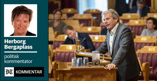 KLAR TALE: Arne Nævra er en av tre SV-representanter som står bak forslaget som forhåpentligvis vil avklare om det er politisk vilje til å gjøre noe med overnatting-SFO-er, og om det i så fall er mulig. Bildet er tatt ved en tidligere anledning.
