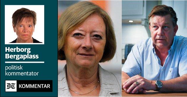 UFINT X 2: Høyres ordførerkandidat Fredrik A. Haaning fordreier byutviklingshistorien i Facebook-posten sin,  og Lise Christoffersen tyr til personangrep. Slikt må det bli krangel av, og det gagner ingen av dem.