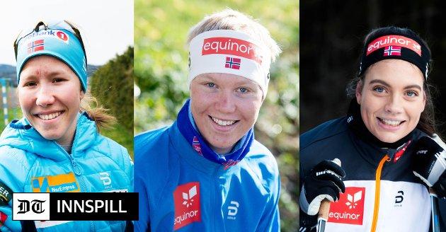 LOKALE HÅP: Helene Marie Fossesholm (t.v.), Martin Kirkeberg Mørk og Kristine Stavås Skistad.