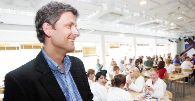 UNN-direktør Tor Ingebrigtsen forlater skuta etter 11 år som sjef, og sier PCI-striden med Helse Nord har vært med på å fremskynde hans avgang. Foto: Lina Livdatter/Nordlys