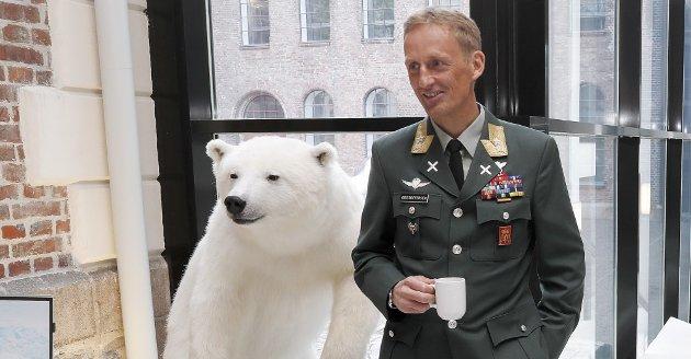 Den nye Forsvarssjefen, general Major Eirik Kristoffersen, ble presentert under en pressekonferanse i dag 12.mai 2020. Kristoffersen tar over i august 2020.