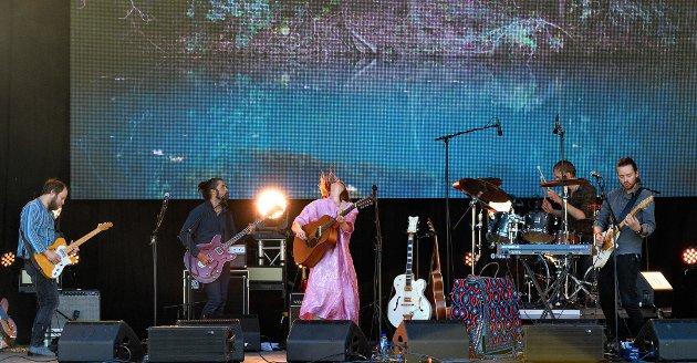 Ida Jenshus var den første som spelte på Festidalen 2018.