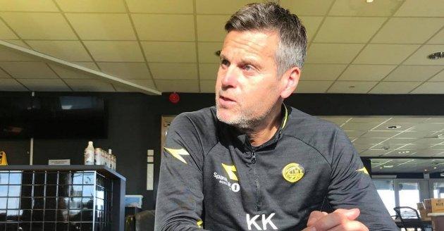SUKSESS: Bodø/Glimt trener Kjetil Knutsen har oppnådd eventyrlig suksess og klubben styrer mot sitt første seriegull. Foto: Freddy Thoresen/Avisa Nordland