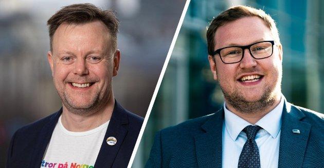 Håkon Vahl og Erlend Svardal Bøe.