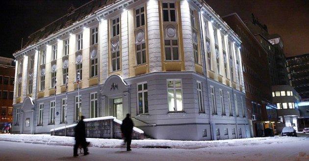KUNST I NORD: Norsk Kunstmuseum er i dag lokalisert i den tidligere politistasjonen i Tromsø sentrum.