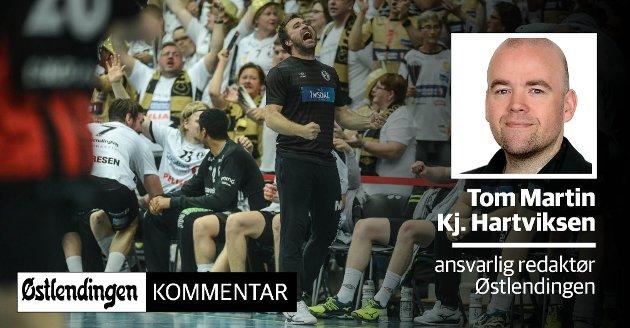BEST I NORGE: Elverum er ikke bare Norges beste håndballag, men også landets beste håndballby.