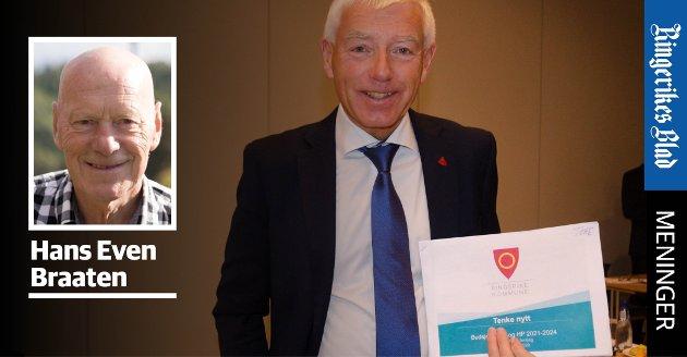 BUDSJETT: - Jeg håper og tror at forslaget fra rådmann Tore Isaksen om nedskjæringer i helse og omsorg ikke blir godkjent, skriver Hans Even Braaten.