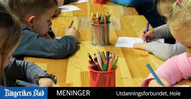 LÆRENDE: - Det står i rammeplanen at barnehagen skal være en lærende organisasjon. Dette er et krav fra Utdanningsdirektoratet, og forplikter, skriver Utdanningsforbundet. (illustrasjonsfoto, Pixabay)