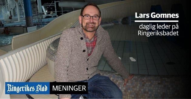 TRYGG ARENA: - RIngeriksbadet har gjennomført en betydelig risikovurdering av virksomheten, sier daglig leder Lars Gomnes.