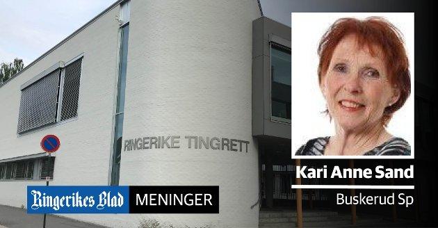 NEDLEGGELSE: – Det interessante er at Høyres argumenter for domstolsreform varier ukentlig, skriver Kari Anne Sand (Sp).