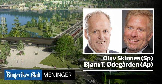 VENTER: – Vi får håpe at regjeringen og stortingsflertallet holder ord, skriver Olav Skinnes (Sp) og Bjørn Tore Ødegården.