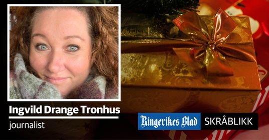 ANNERLEDES JUL:  Journalist Ingvild Drange Tronhus gir oss et skråblikk på julestri i koronatid.
