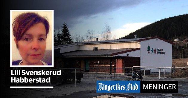 BEHOV: - Heggen barnehage er nært beliggende til Heradsbygda, der det er bosatt mange barnefamilier med behov for barnehage, skriver Lill Svenskerud Habberstad.